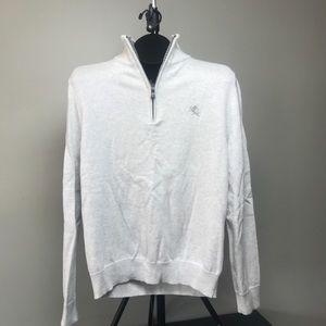 Express mens 1/4 zip sweater